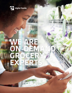 Brief: On-demand Grocery As a Service