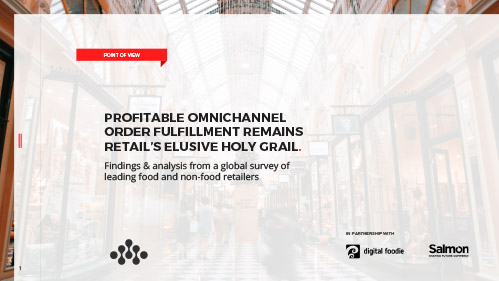 Point of View: Omnichannel Order Fulfillment