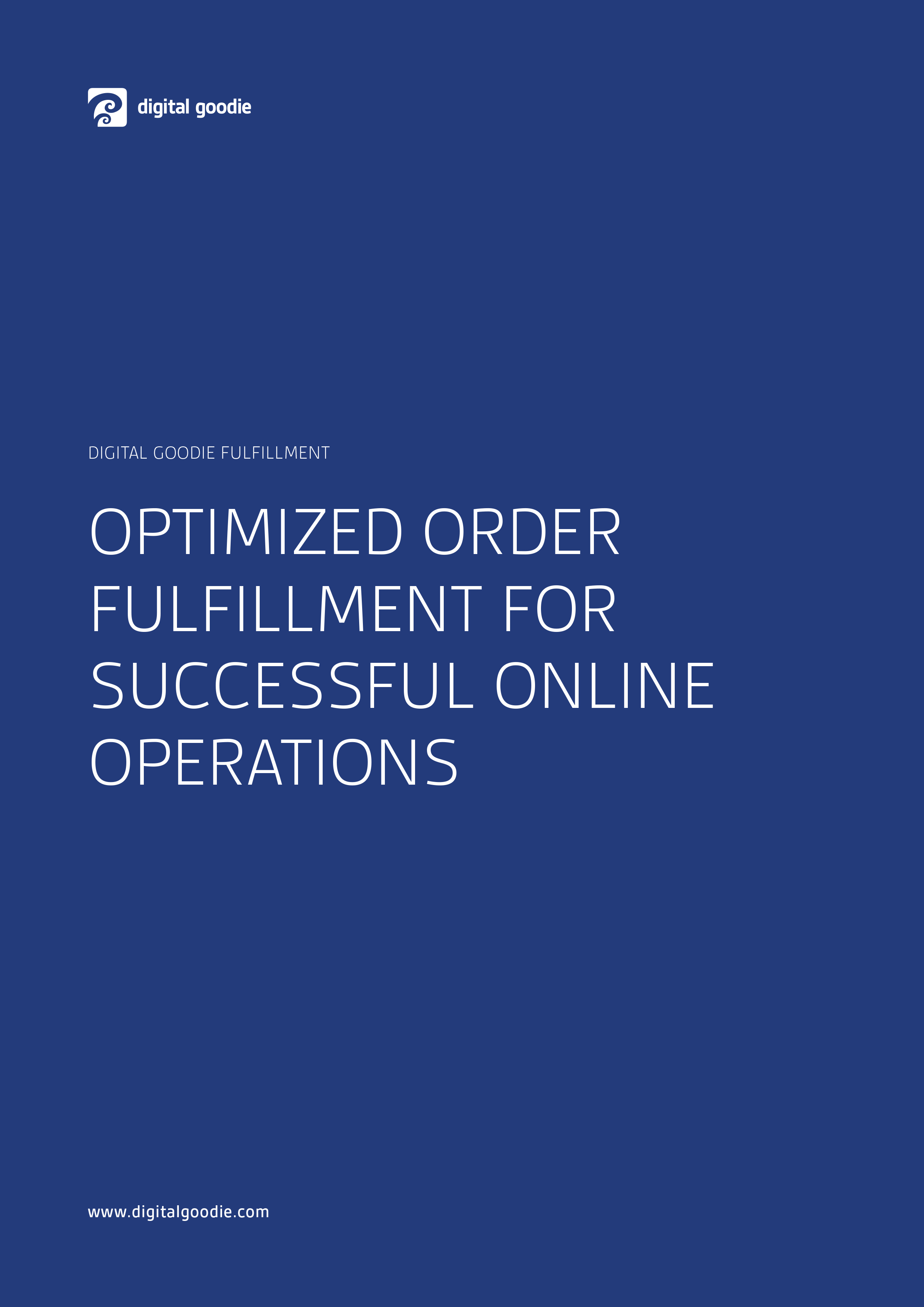 Digital Goodie Fulfillment