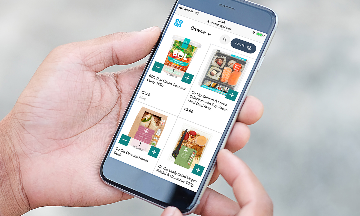 Co-op and Digital Goodie partner and launch Co-op's first dedicated online shop