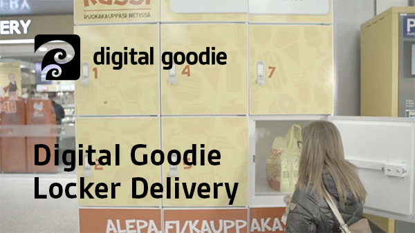 Digital Goodie Locker Delivery